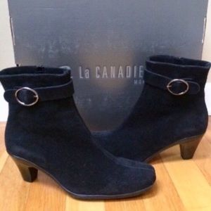 La Canadienne 'Dafne' Suede Cold Weather Booties